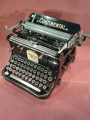 Schreibmaschine typewriter - early Continental - 1908 - macchina da scrivere