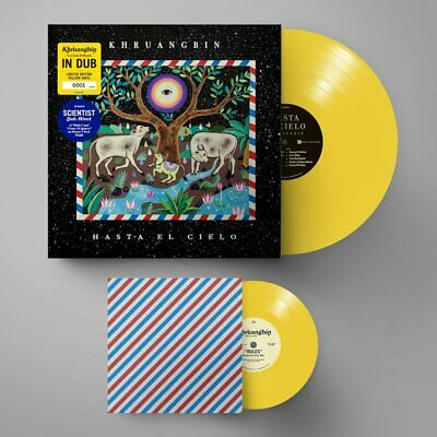 "Khruangbin - Hasta El Cielo // Vinyl LP + 7"" limited edition on Yellow numbered"