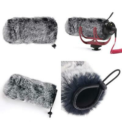 Microphone Deadcat Windscreen Outdoor Wind Shield Mic Windshield Muff Fur Custom
