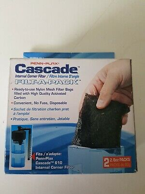 PennPlax Cascade  Filter Pack For 610 Internal Corner Filter (2) CIF22C