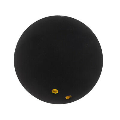 Rubber Double Yellow Dot Squash Balls for Self-training