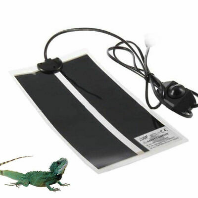 Reptile Vivarium Heat Mat Heating Warm Heater Pad Thermostat Controller AU E0H3G