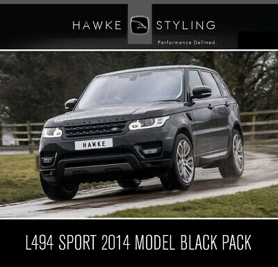 HAWKE black pack conversion L494 2014-2017 RANGE ROVER SPORT grille vents ect.