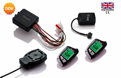 Lcd 2 Way Pager Motorcycle  Alarms & Immobiliser With Gps/Gsm Text Alert Tracker