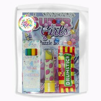 Childrens Pre Filled Party Bags, Filler Packs, Glamour Girl Party Bags, Birthday