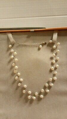 8f2472590 Tiffany & Co. IRIDESSE Cultured Freshwater White Pearl Branch Necklace  Sterling