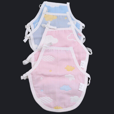 Toddlers Lovely Belly Apron Colorful Universal Comfort Gauze Lace Up Vest Z