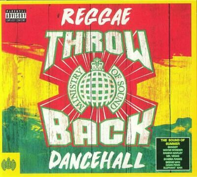 THROWBACK REGGAE DANCEHALL – MINISTRY OF SOUND V/A 3CDs (NEW/SEALED)