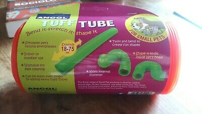 Ancol Tuff Tube Expanding Plastic Toy Tunnel for Small Animals