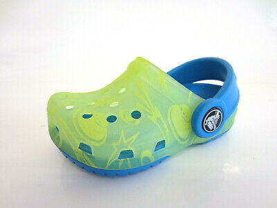 CROCS Chameleon Space Clogs Citrus/Ocean (41B MB1)