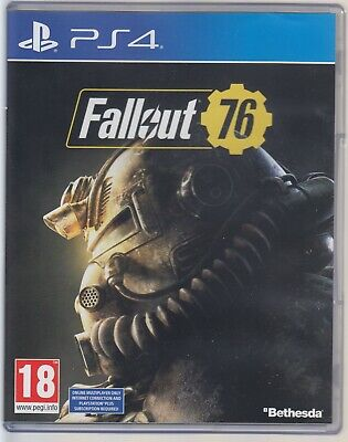 Fallout 76 PS4 (Sony PlayStation 4, 2018)