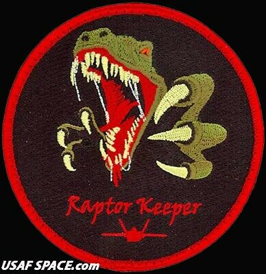 USAF 362nd TRAINING SQUADRON - RAPTOR KEEPER - ORIGINAL AIR FORCE VEL PATCH