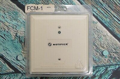 Notifier FCM-1 Fire Alarm Supervised Control Module In Box