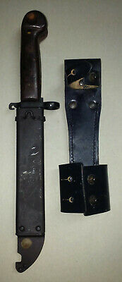 AK SCABBARD AND Knife with Field Repair Kit, Mag Pouch,Sling