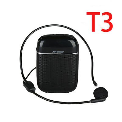 Aporo BTOOTH Rechargeable Voice Booster Amplifier Speaker For Teaching Guide