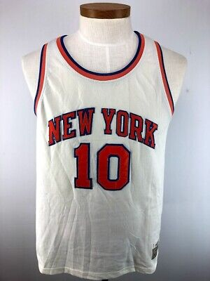 buy online 5f2ae 0f9df WALT FRAZIER NEW YORK KNICKS MADISON SQUARE GARDEN ...