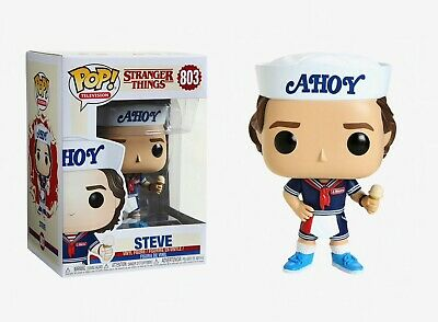 Funko Pop Television: Stranger Things - Steve Vinyl Figure Item #38535