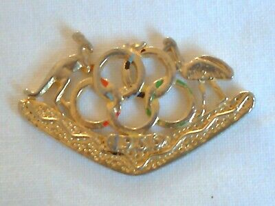 Olympic Games Collectable 1956 Melbourne Vintage Games Emblem and Coat of Arms