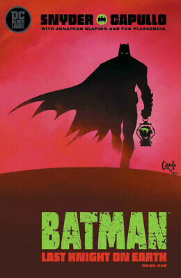 BATMAN LAST KNIGHT ON EARTH #1 CAPULLO Cover DC Comics Black Label 1st Print NM