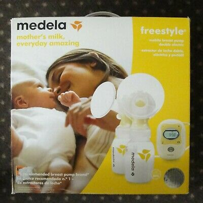 Medela Freestyle Mobile Double Electric Breast Pump New In The Box Free Shipping