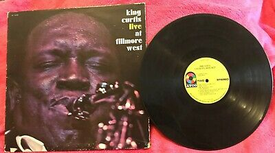 King Curtis - Live At Fillmore West -Original Vinyl Record LP (Atco SD 33-359)