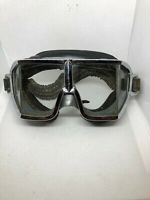 15179f439a ANCIENNE LUNETTE MOTO Aviation CLIMAX - EUR 40,00 | PicClick FR