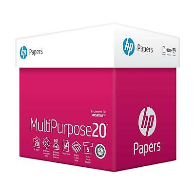 HP Multi-Purpose Paper, Print,Fax&Copy Paper Letter,20lb, 96-Bright 2500, 5 REAM