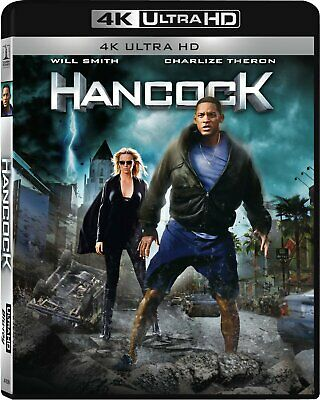 Hancock  Blu Ray 4K Ultra Hd + Blu Ray  Neuf Sous Cellophane