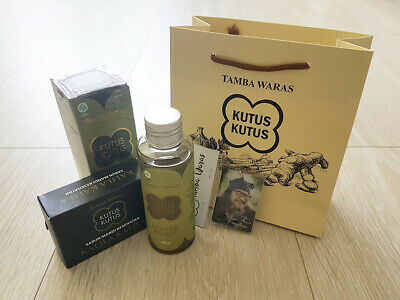 Kutus Kutus - Minyak Balur - Organic Herbal Oil - 100 ml