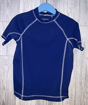 Boys Age 3-4 Years - Sun Protection Top From Lands End Kids