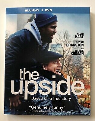 The Upside (Blu-ray + DVD) (No Digital HD) - Kevin Hart, Bryan Cranston