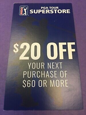 b36b458b4c2 PGA Tour Superstore $20 OFF $60 Purchase Discount Coupon Promo Code exp  3/31/
