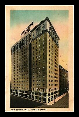 Dr Jim Stamps King Edward Hotel Toronto Canada Topical View Postcard