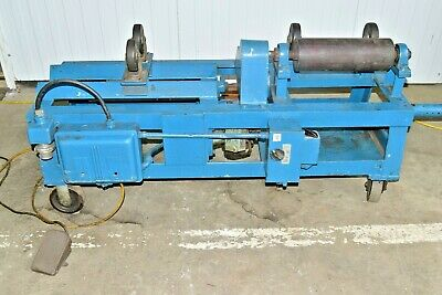 "15"" Wide Pipe Turning Rolls 3 Phase"