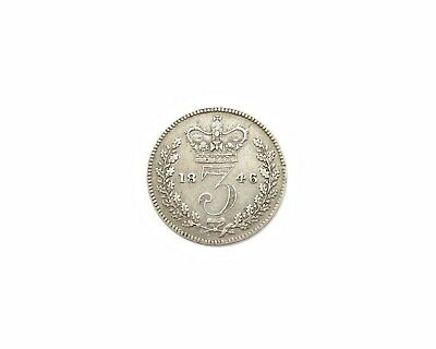 Victoria 1846 Young Head Silver Threepence - Extremely Rare