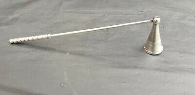 A Vintage Silver Plated Candle Snuffer.very Ornate and collectable.
