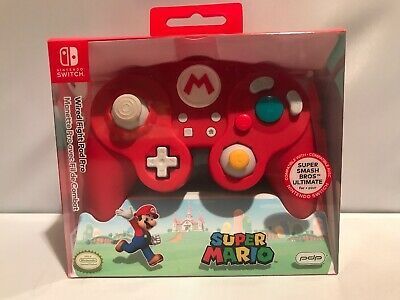 PDP Super Smash Bros Wired Fight Pad Pro Mario for Nintendo Switch