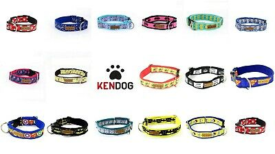 Handmade dog collar soft neoprene padded KenDog