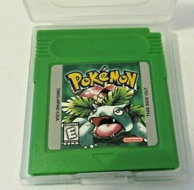 Pokemon Grüne Edition / Pokémon Green Edition / Game Boy & GBC