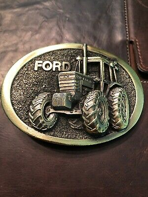 Vintage Farm Ford Equipment Tractor Belt Buckle