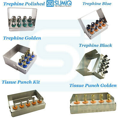 Dental Implants Trephine Drills and Tissue Punch Dental Surgical Implant Tools