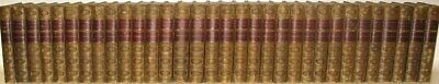 LEATHER Set;Works James Fenimore COOPER Last of The Mohicans!(32VOL's) RARE 1867
