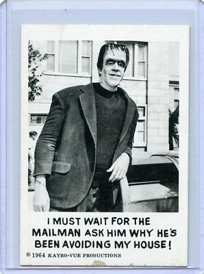 1964 THE MUNSTERS Card #45  Leaf Brands  Kayro-Vue Productions  EX