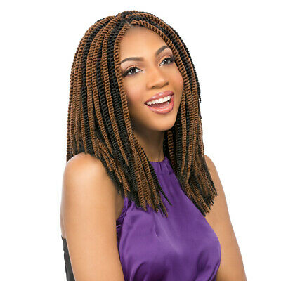 Sensationnel African Collection Synthetic Crochet Braid SENEGAL TWIST 12""