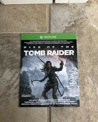 Rise Of The Tomb Raider Xbox One Digital Code New