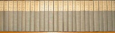 COMPLETE Set;Works of JOSEPH CONRAD!Original non leather Bindings 1925 RARE!gift