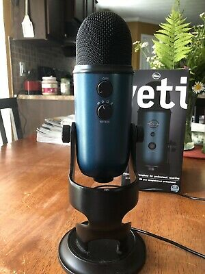 Blue Microphones YETI-TEAL  Condenser Cable Professional Microphone