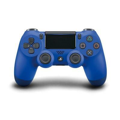 Official Genuine PS4 PlayStation DualShock 4 Wireless Controller V2 Wave Blue
