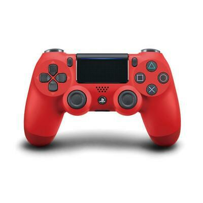 Official Genuine PS4 PlayStation DualShock 4 Wireless Controller V2 Magma Red