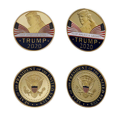 2020 Donald TrumpKeep America Great Commemorative Challenge Coin Eagle Coins RF